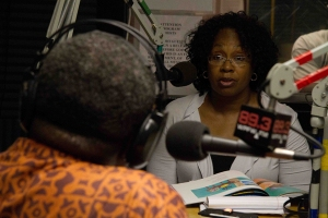 Adjoa on WPFW radio
